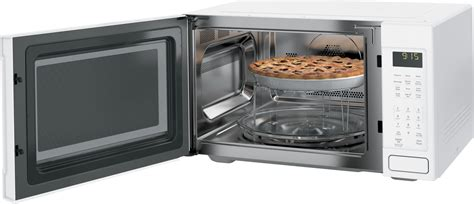 pebdjww ge profile  cu ft countertop  built  microwave convection white