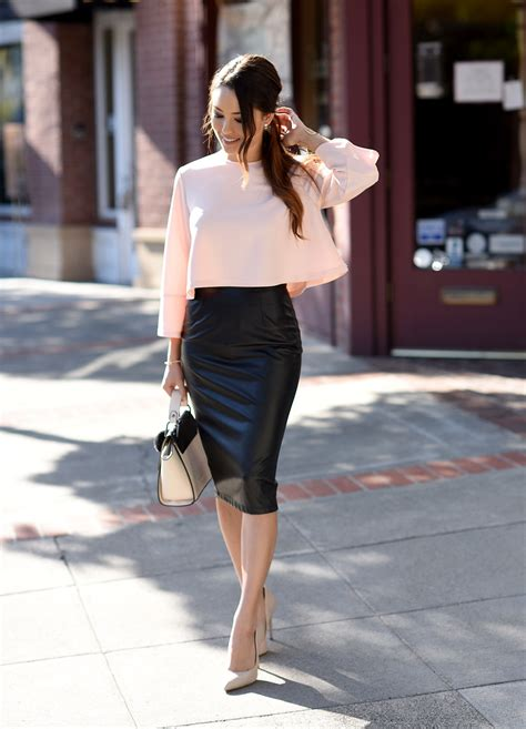 Why We Love Pencil Skirt Outfits (And You Should Too!) - Just The Design