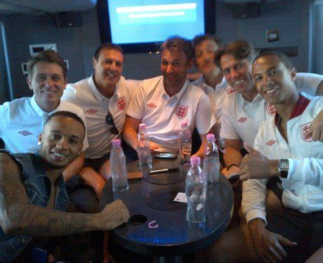 JLS Get Into The Spirit For Soccer Aid With John Bishop ...