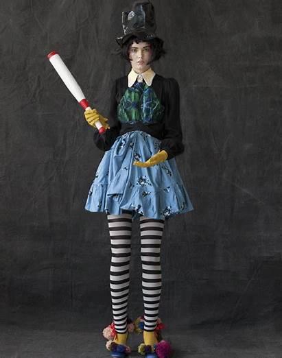 Freak Circus Carnival Inspired Rader Shouler Proenza