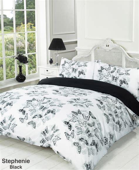 Black And White Single Duvet Cover by Duvet Quilt Cover Bedding Set Black White Single