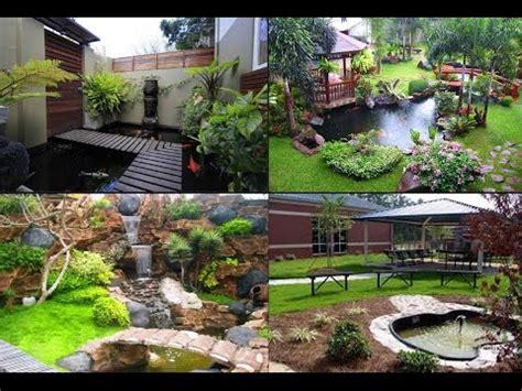 desain dekorasi taman rumah minimalis cantik asri bos