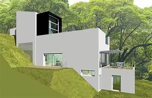 construction sur terrain en pente With construction maison terrain en pente