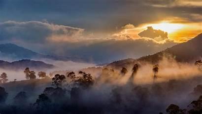 Idukki Kerala Bing India Western Ghats Mist