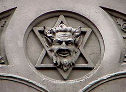 Image result for jewish star satanic