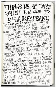 Shakespearean Language English