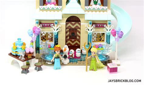 review lego  arendelle castle celebration