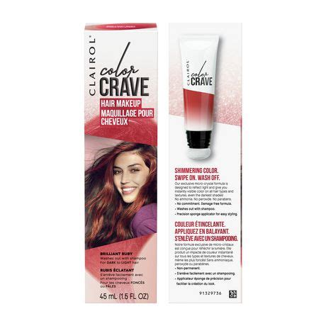 Clairol Color Crave Temporary Hair Makeup  Walmart Canada