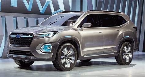 subaru suv subaru viziv 7 concept debuts seven seater suv