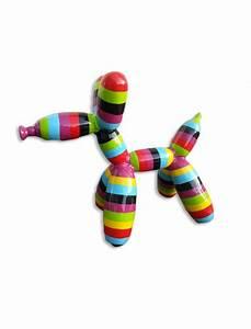 Chien Ballon Deco : chien ballon multicolor infinytoon objets d co statues jardin concept ~ Teatrodelosmanantiales.com Idées de Décoration