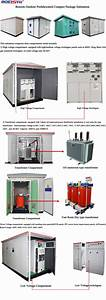 Electrical European Type 11kv Package Substation Kiosk
