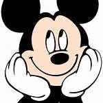 Mickey Mouse Face Clipart Head Crown Clip