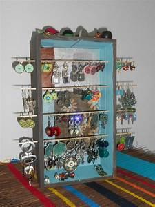Idée Rangement Bijoux : idee rangement pour boucle d oreilles bijoux la mode ~ Melissatoandfro.com Idées de Décoration