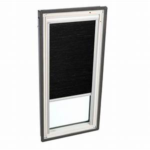 Velux Manual Room Darkening Charcoal Skylight Blinds For