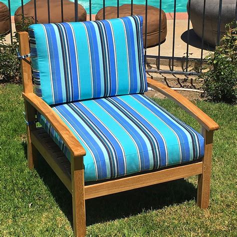 lola outdoor club chair  sunbrella cushion iksun