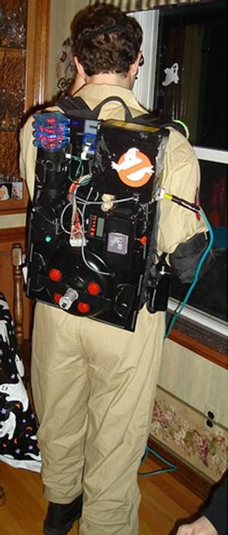 diy ghostbusters proton pack  ecto goggles
