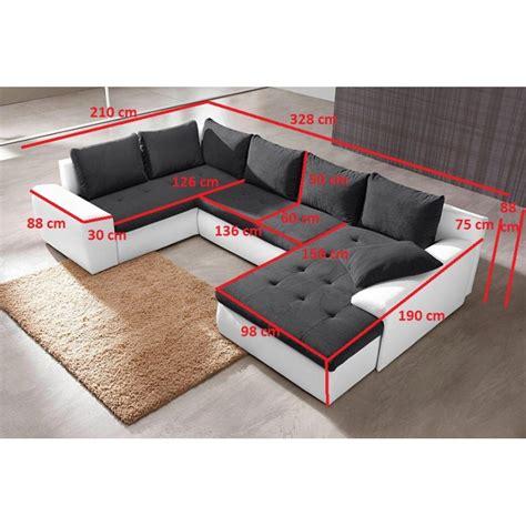 canapé lit en mousse canapé panoramique convertible joya