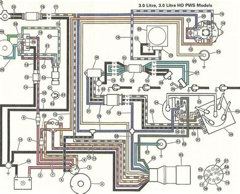1989 Omc Ignition Wiring Diagram 9 best images of volvo penta 5 0 wiring diagram volvo
