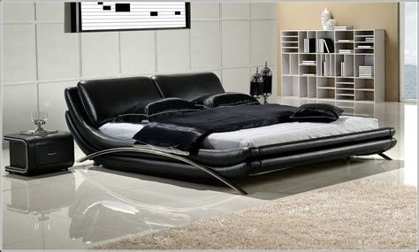 Purple Black Bedroom Decor Awesome Modern King Size Bed Bedroom Aprar