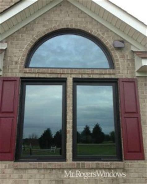 black window frames add distinctive color  style