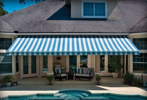 outdoor awnings  blinds