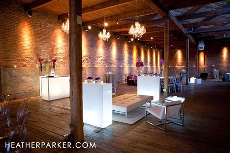 modern warehouse spaces  weddings chicago wedding