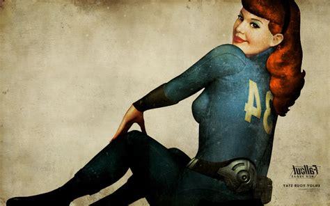 Image  Vault Girl Pinup Invertedjpg  Fallout Wiki