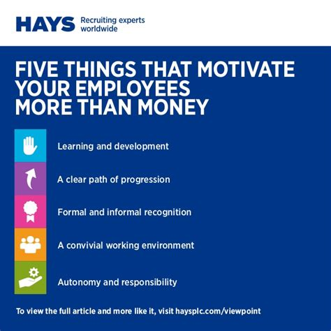 5 things that motivate your employees more than money