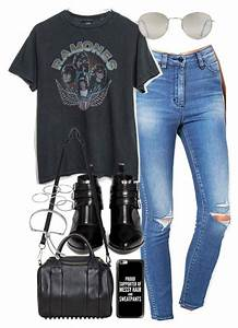8d20d75f17 25+ Best Ideas about Band Tee Outfits on Pinterest