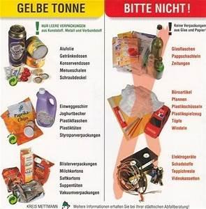 Ständer Für Gelben Sack : stadt ratingen gelbe tonne gelber sack ~ A.2002-acura-tl-radio.info Haus und Dekorationen