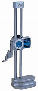 Gauge Thickness Chart Height Gauges J A King Precision Measurement