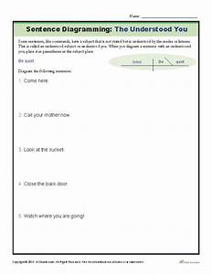 Sentence Diagramming Worksheet  The Understood You