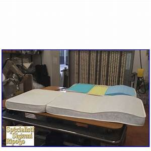 Materasso divano letto sezionato