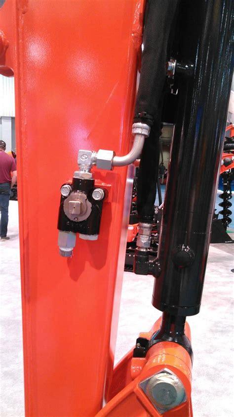 diverter valve  mini excavator orangetractortalks  kubota