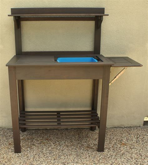 potting bench with sink potting bench turned outdoor bar