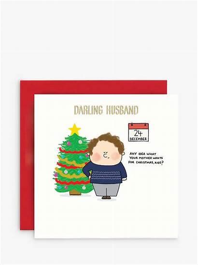 Card Christmas Husband Mum Susan Hanlon Johnlewis