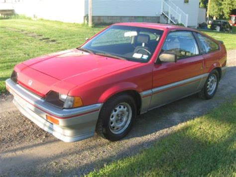 how to fix cars 1984 honda cr x security system buy used 1984 honda crx civic coupe 2 door 1300 5 spd manual 140361 miles needs work in stanley