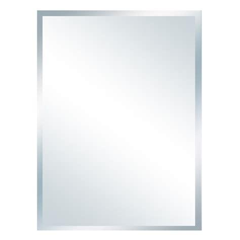 miroir biseaute sans cadre miroir biseaut 233 171 contemporain 187 rona