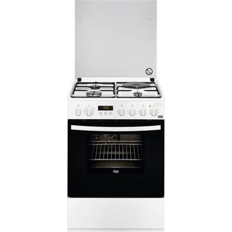 prix cuisiniste faure fcm6560p cuisinière mixte 3 brûleurs gaz avec four
