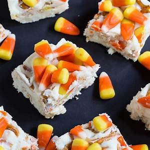 Candy Corn Fudge - Spicy Southern Kitchen