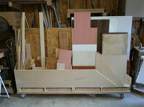 Build your own portable lumber rack   DIY, Portable Lumber
