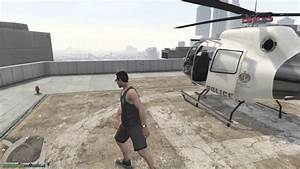 Legit Spawn Location for the Police Helicopter !!! (GTA V ...