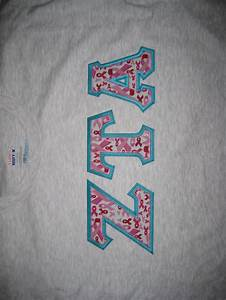 25 best greek fabric favorites images on pinterest greek With zeta tau alpha letter shirts
