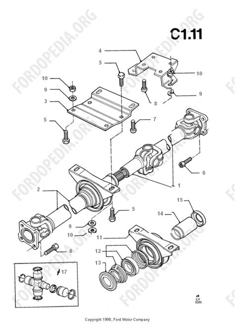 Ford Transit Diagram by Ford Transit Mkiii 1985 1991 Parts List C1 11 Drive