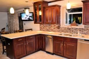 kitchen remodel new tile cabinets and granite countertops ak britton construction llc