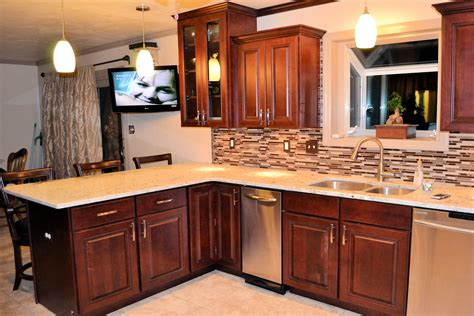 cost to reface cabinets kitchen remodel tile cabinets and granite