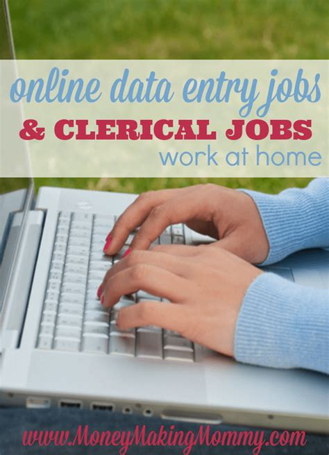 data entry at home list of genuine work at home data entry jobs updated