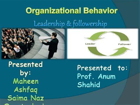 leadership followership