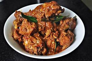 Spicy Chicken Curry Recipe Mareena's Recipe Collections