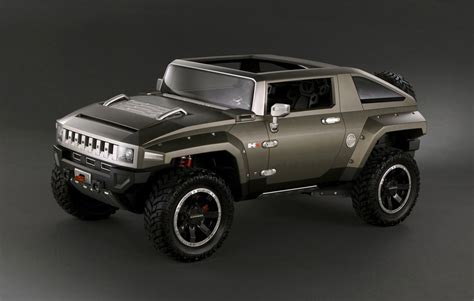 Gmc May Get An Suv That Looks Like A Hummer To Rival Jeep